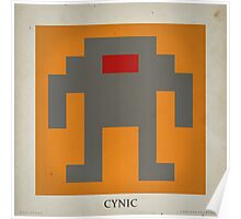 8-bit Life Cycle Poster