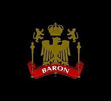 Fit For A Baron Coat-of-Arms by Vy Solomatenko