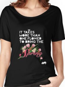 Spring Women's Relaxed Fit T-Shirt