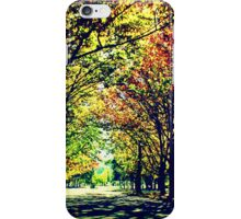 Autumn In Canberra iPhone Case/Skin