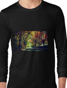 Autumn In Canberra Long Sleeve T-Shirt