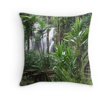 Picnic In The Park - Paronella Park, Queensland Throw Pillow