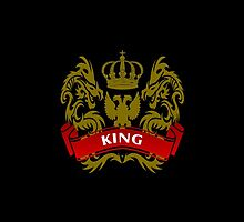 Fit For A King Coat-of-Arms by Vy Solomatenko