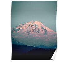 Beautiful Mount Baker Poster