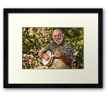 Banjo Player Framed Print