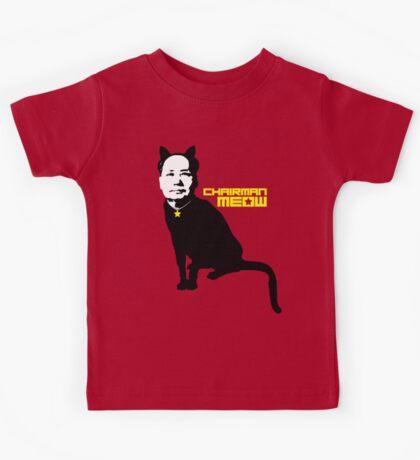 Chairman Meow Kids Tee