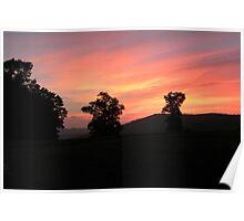 Ozark Sunset  Poster