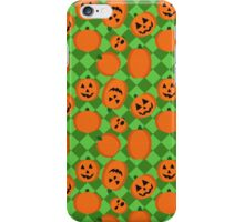 Halloween Pumpkin Pattern iPhone Case/Skin