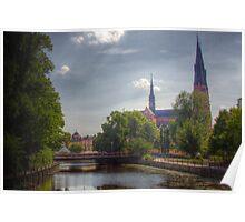 Uppsala Cathedral - Uppsala near Stockholm, Sweden Poster