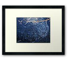 Creation Reflected - Lerderderg River Framed Print