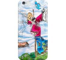 Scarecrow Dancing in the Wind iPhone Case/Skin