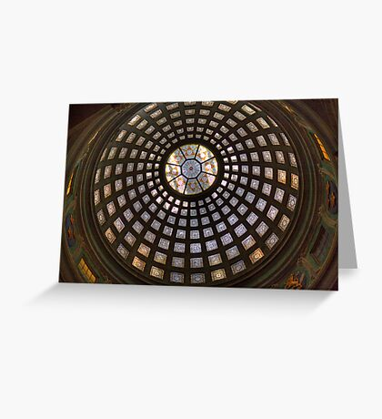 The Dome - Natural History Museum, Stockholm, Sweden Greeting Card