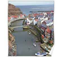 Staithes river  Poster