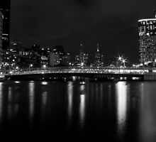 Yarra by night 3 by Martyn Baker | Martyn Baker Photography