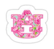 Auburn Lilly Pulitzer Sticker