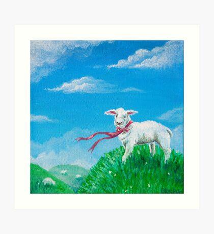 Little Sheep Art Print