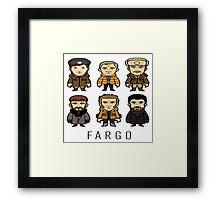 Fargo Cartoon Framed Print