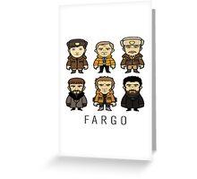 Fargo Cartoon Greeting Card