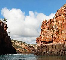 Imposing cliffs at Horizontal Falls by georgieboy98