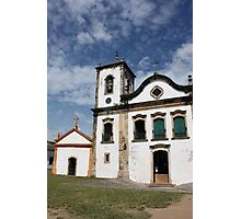 Church on a heavenly backdrop Photographic Print
