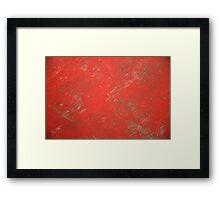 red retro background Framed Print