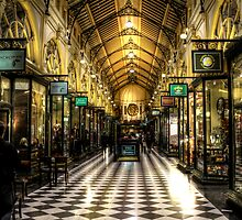 The Block Arcade Melbourne City by Scott Sheehan