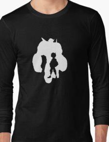 Baymax & Hiro Silhouette Long Sleeve T-Shirt