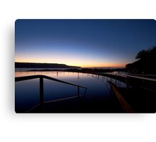 Lonely Sunrise Canvas Print