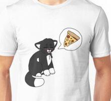 Tuxedo Pizzacat Unisex T-Shirt