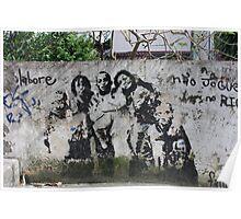 Graffiti in the ghetto Poster