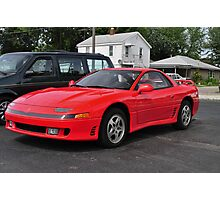 Red Sports Car Photographic Print