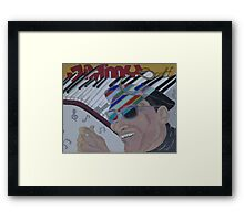 The Creativity of Jimmy Framed Print
