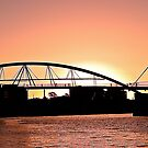 Goodwill Bridge, Brisbane by CezB