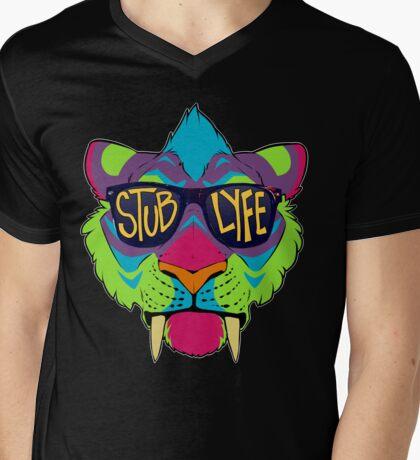 #StubLyfe Mens V-Neck T-Shirt