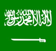 Saudi Arabian American Multinational Patriot Flag Series Sticker
