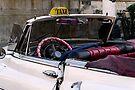 Open top Taxi, Havana, Cuba by buttonpresser