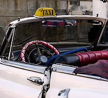 Open top Taxi, Havana, Cuba by buttonpresser