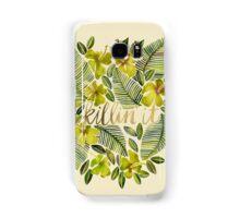 Killin' It – Tropical Yellow Samsung Galaxy Case/Skin