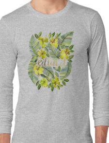 Killin' It – Tropical Yellow Long Sleeve T-Shirt