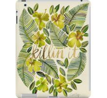 Killin' It – Tropical Yellow iPad Case/Skin