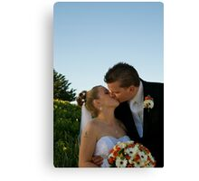 Young love Canvas Print