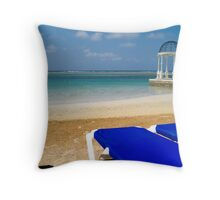 Looking into Paradise  Throw Pillow