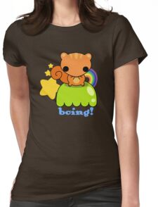 rainbow squirrel Womens Fitted T-Shirt