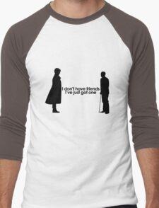 I Don't Have Friends Men's Baseball ¾ T-Shirt