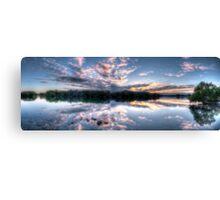 Woy Woy sunrise Panorama Canvas Print