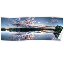 Woy Woy sunrise Panorama Poster