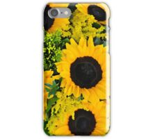 Beautiful sunflowers iPhone Case/Skin