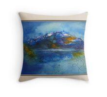 Land & Sea Throw Pillow
