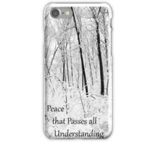 Peace That Passes All Understanding iPhone Case/Skin