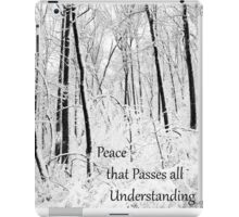 Peace That Passes All Understanding iPad Case/Skin